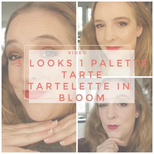 3 looks 1 palette tarte tartelette in bloom neutral everyday makeup look