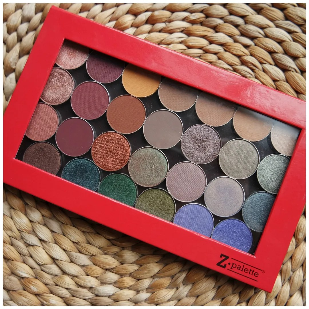 make up geek eyeshadow palette singles review swatch