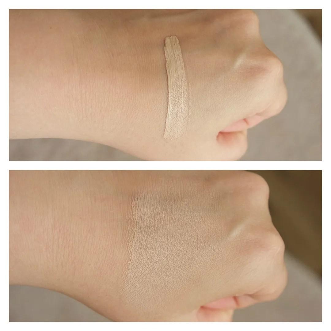 maybelline age rewind concealer brightener fair review swatch fair dry skin