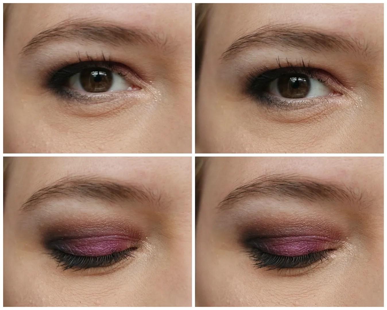 beauty uk posh galaxy eyeshadow palette review swatch