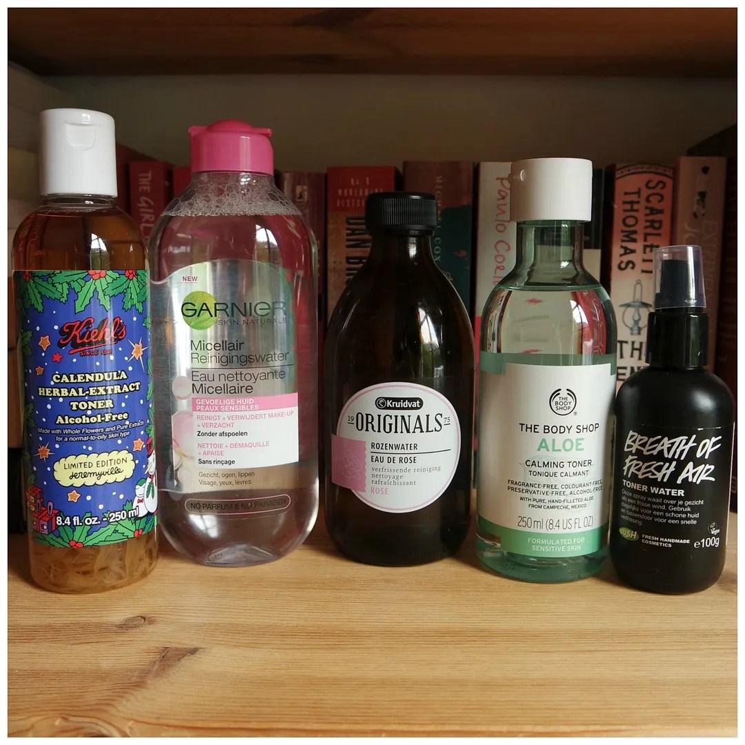 best toners for sensitive skin skincare kiehls garnier kruidvat the body shop lush