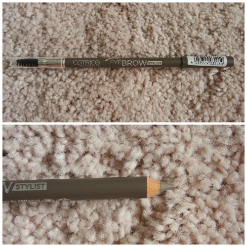 Catrice Eyebrow Stylist brow pencil 045 Never Be ASHamed Catrice Brow Colorist tinted brow gel 010 light review swatch