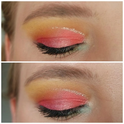 Catrice eye foundation waterproof eyeshadow primer matt review swatch