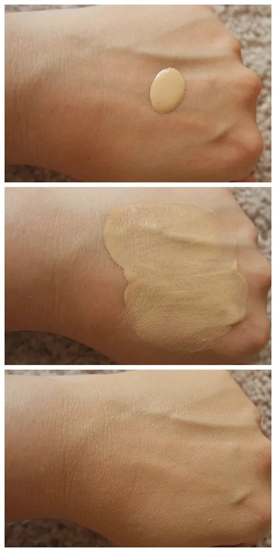 catrice hd liquid radiance foundation review swatch fair skin 010 Light Beige