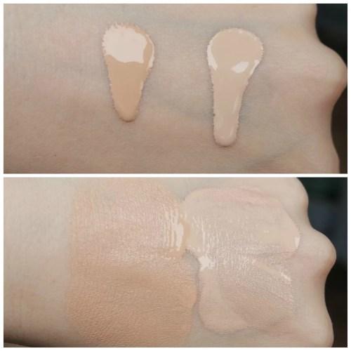catrice hd liquid radiance foundation review swatch fair skin 010 Light Beige 005 Ivory Beige