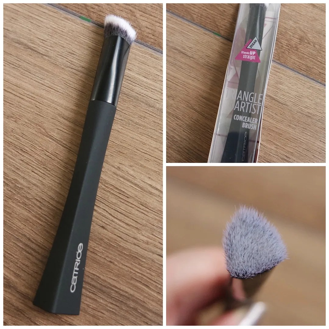catrice makeup tools brush sponge brush cleanser pot review highlighter concealer
