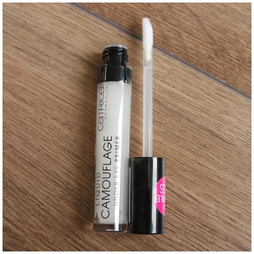 catrice liquid camouflage under eye primer review swatch