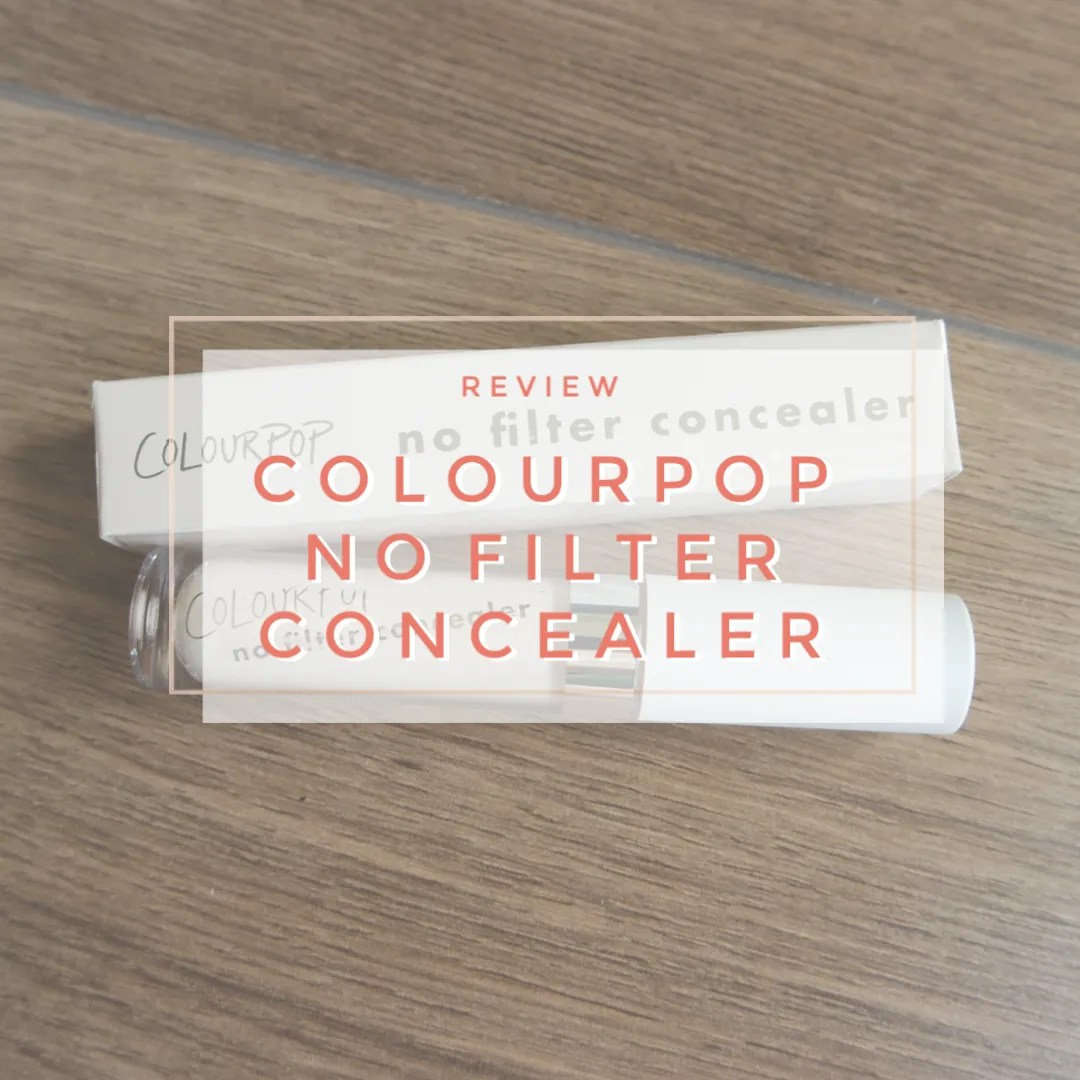 colourpop no filter concealer review swatch fair 08