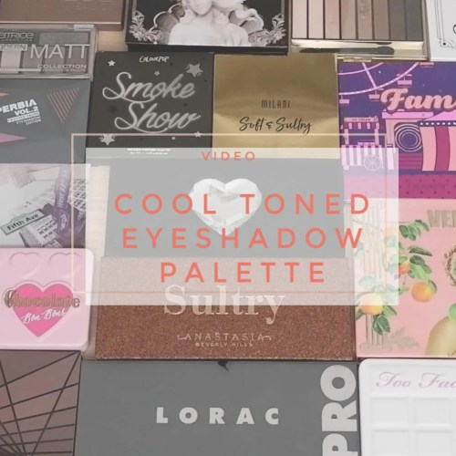 cool toned eyeshadow palette collection