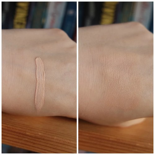 essence stay all day 16 h concealer 20 soft beige review swatch look application