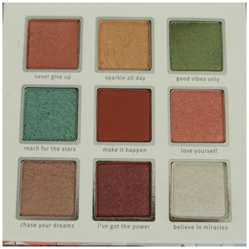 essence crystal power eyeshadow palette review swatch application makeup look