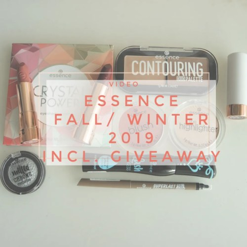 essence fall winter 2019 new collection first impression swatch giveaway review makeup