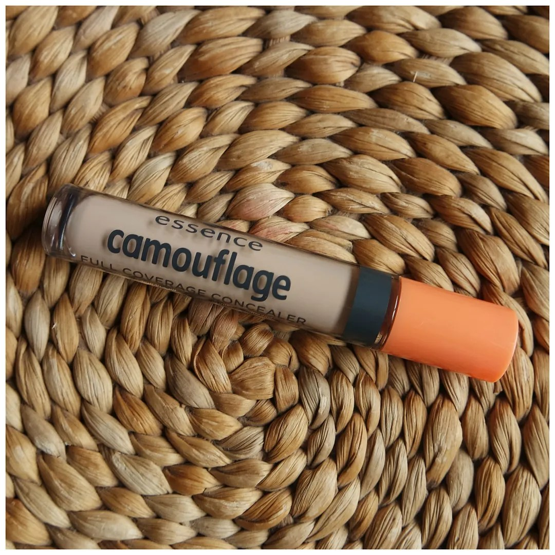 essence camouflage full coverage concealer 05 ivory review swatch