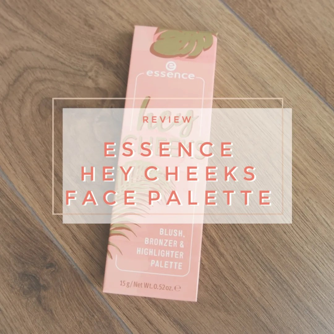 essence hey cheeks blush bronzer highlighter face palette review swatch