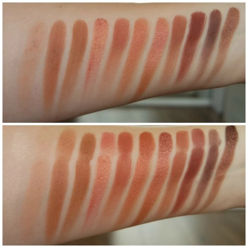 essence limited edition summer 2018 wanted sunset dreamers desert heat naked heat dupe urban decay review swatch comparison