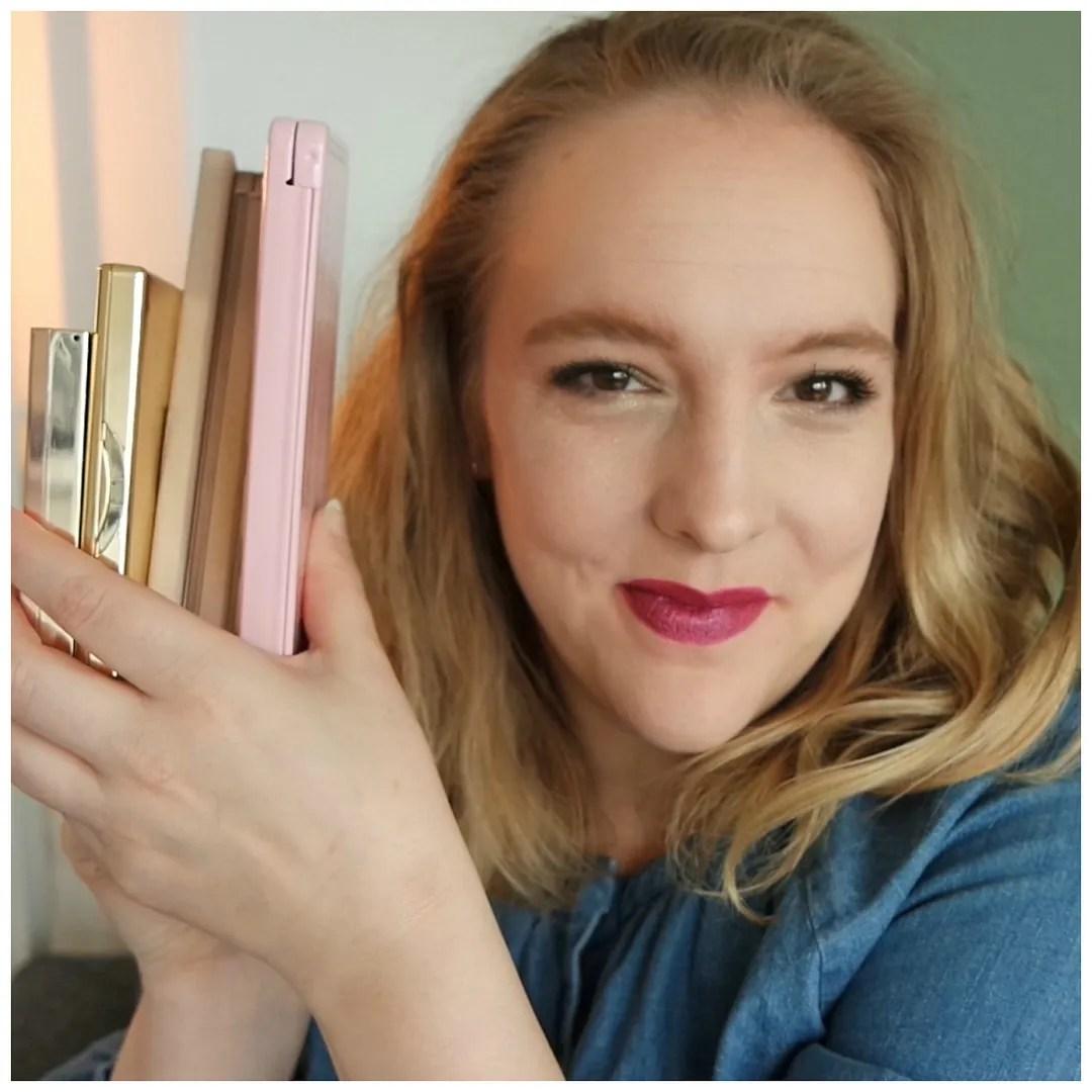 5 favorite eyeshadow palettes