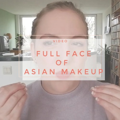 full face of Asian makeup korean first impression wear test missha peri pera a'pieu innisfree etude house 3ce