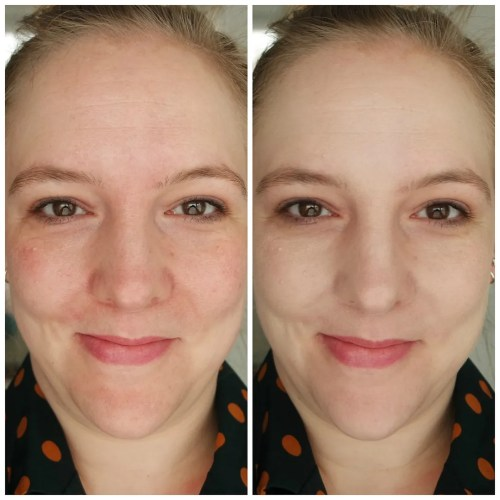 hourglass vanish stick foundation review swatch makeup look application alabaster