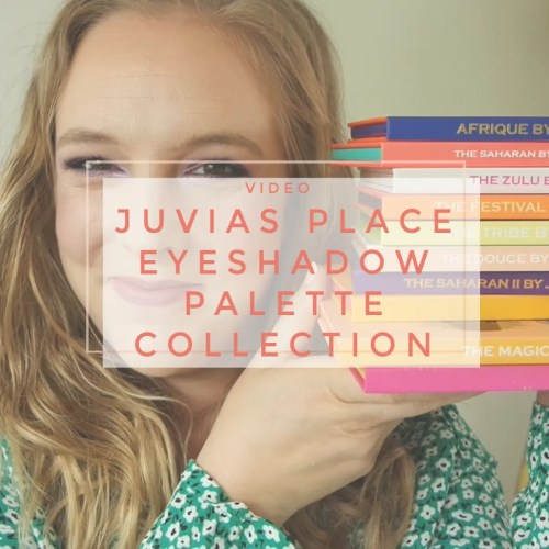 juvias place eyeshadow palette collection