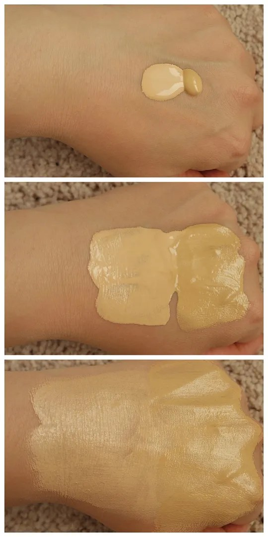 L'Oreal Infallible Fresh Wear Foundation 20 Ivory comparison new formula review swatch stay fresh matte update