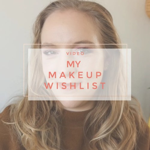 my makeup wishlist