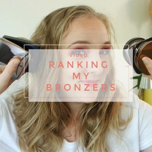 ranking my bronzers