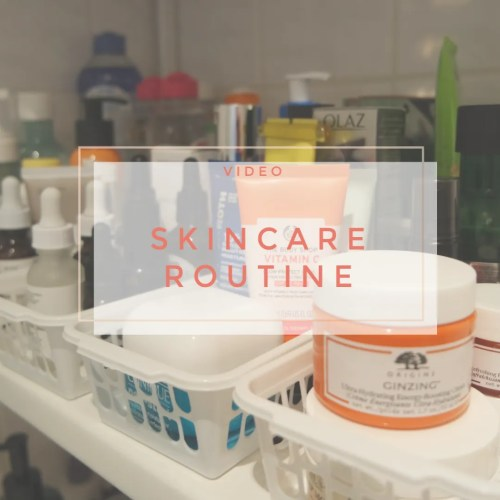 skincare routine morning evening complete dehydrated sensitve skin