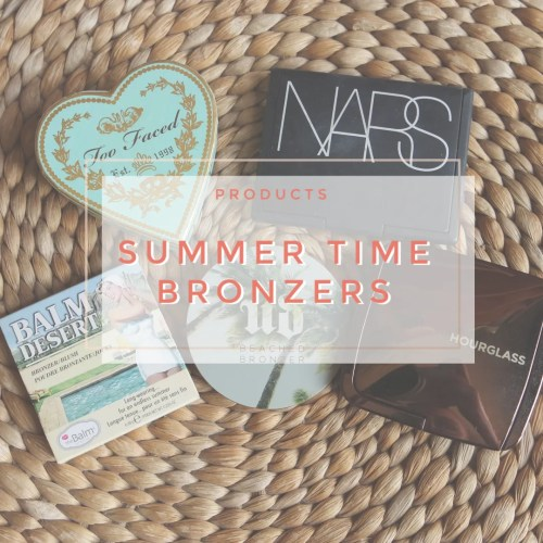 top 5 summer time bronzers the balm hourglass too faced urban decay nars