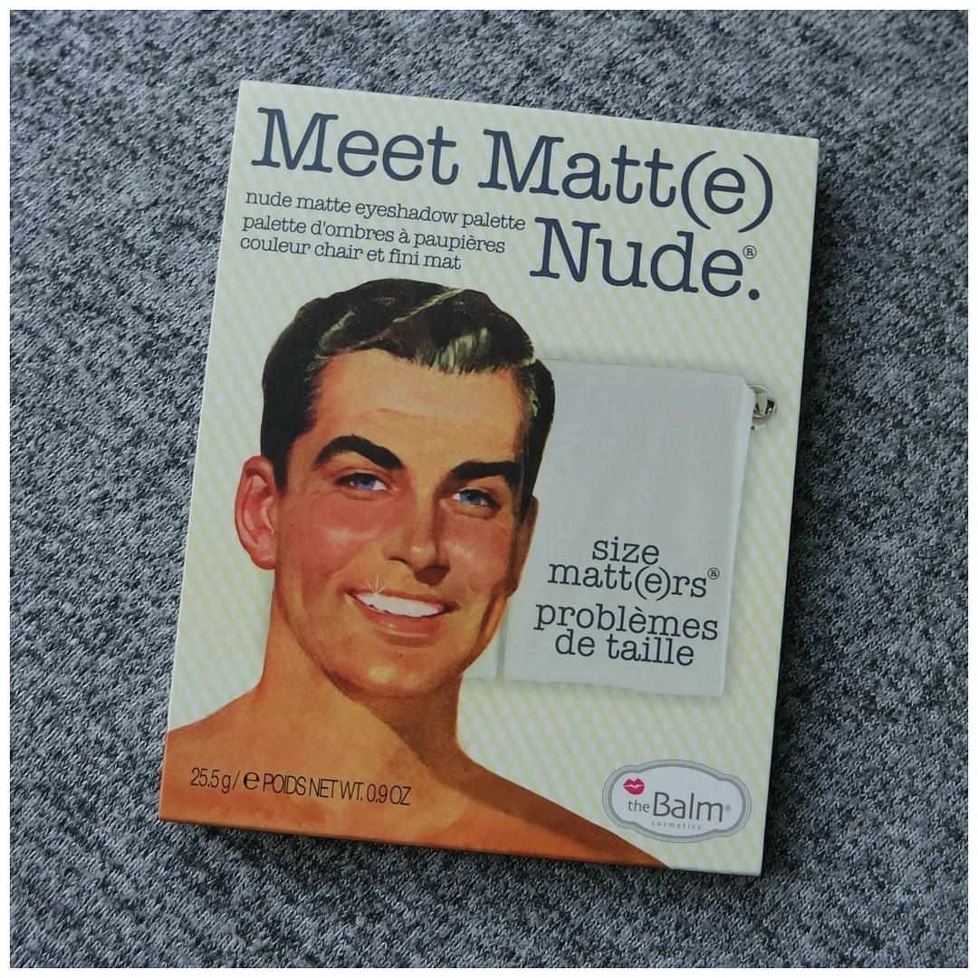 the balm meet matte matt(e) matt nude eyeshadow palette review swatch
