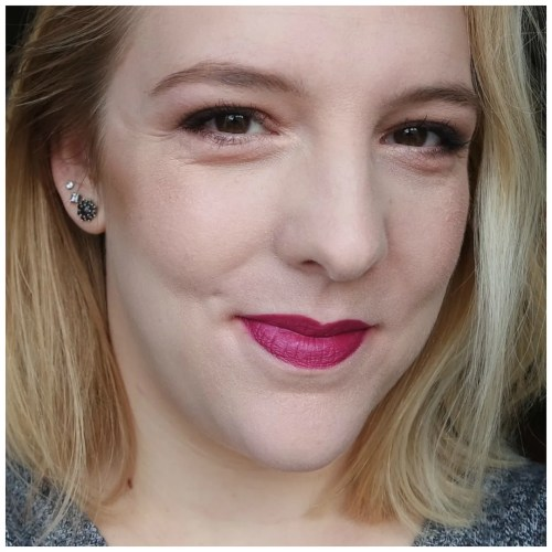 urban decay matte revolution vice lipstick review swatch application makeup look after dark