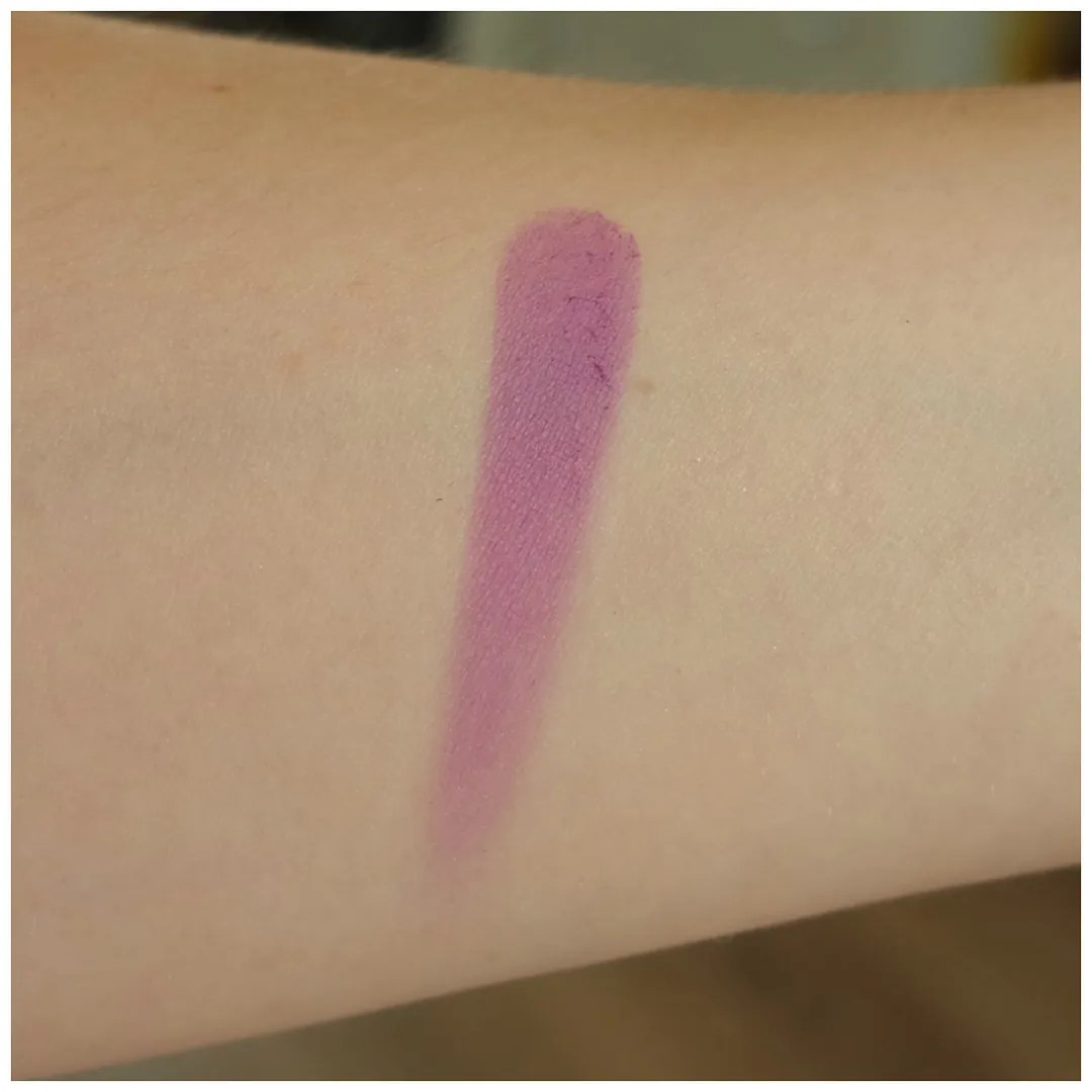 urban decay afterglow blush bittersweet review swatch purple fair skin