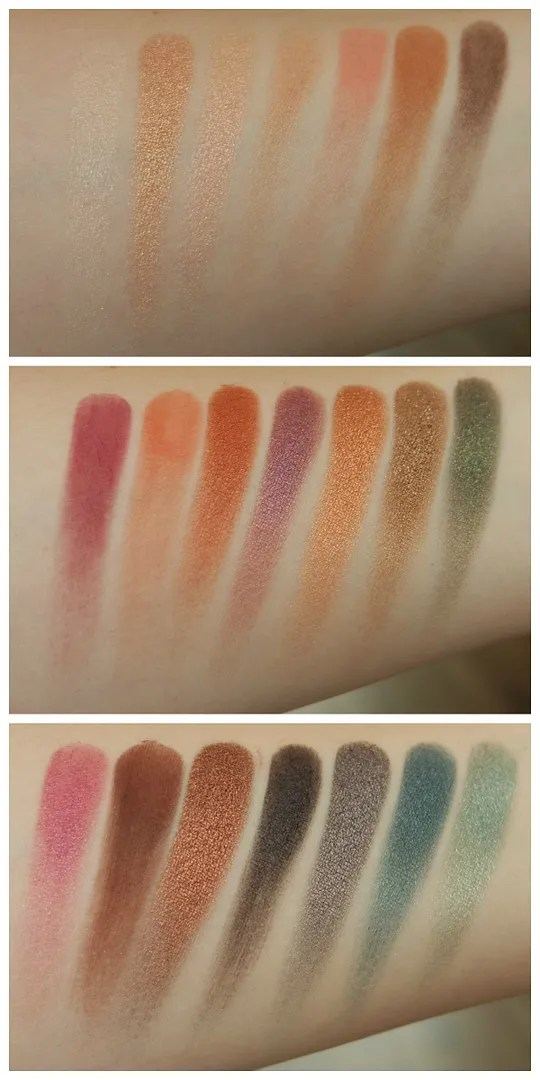 urban decay born to run eyeshadow palette review swatch