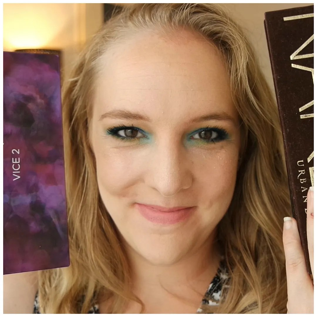 urban decay eyeshadow palette collection review swatch