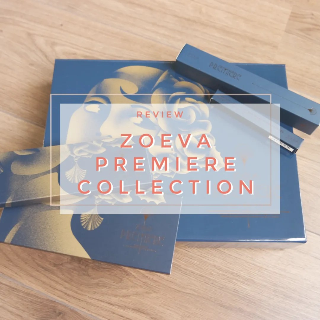 zoeva premiere collection brush lipstick eyeshadow palette face palette review swatch