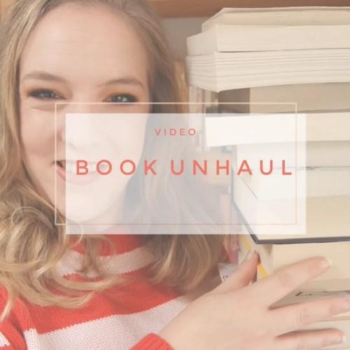 book unhaul 2019 declutter bookshelf