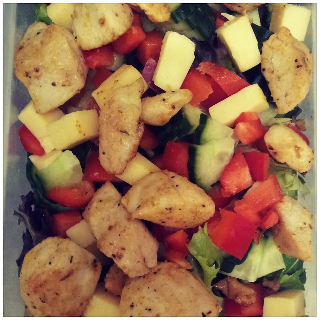 Recipe: cajun chicken salad