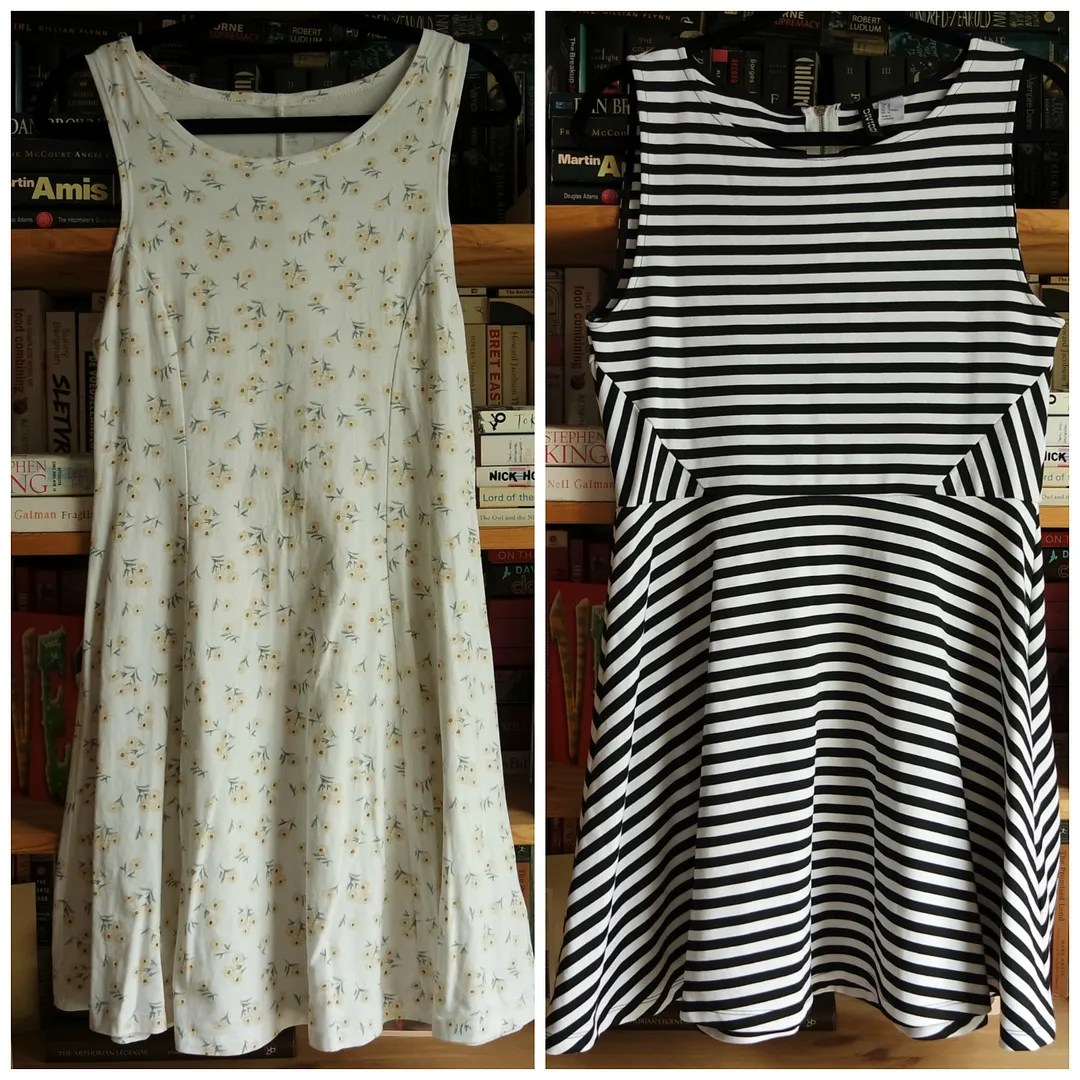 Forever 21 Daisy dress H&M Striped dress
