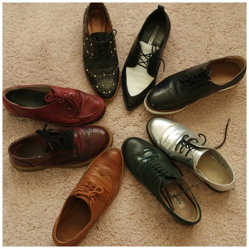 brogues collection shoe fashion outfit style