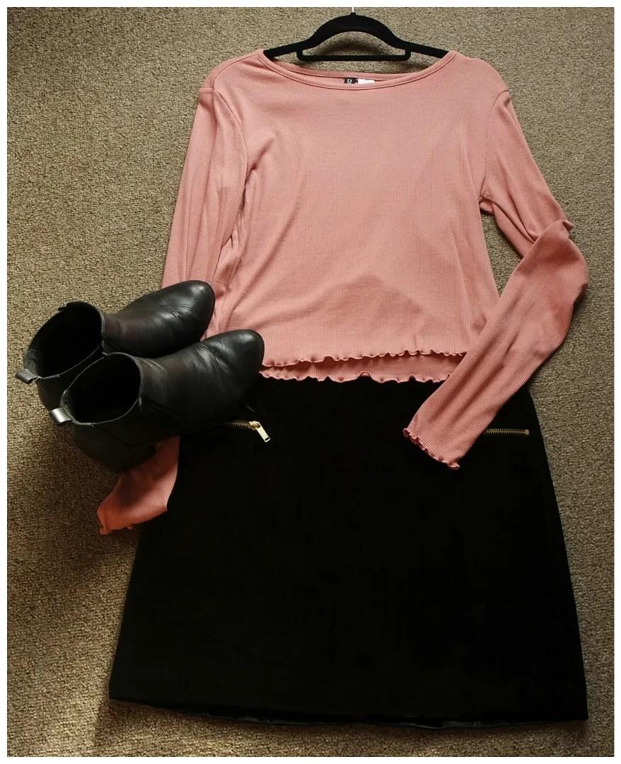 how I wear velvet