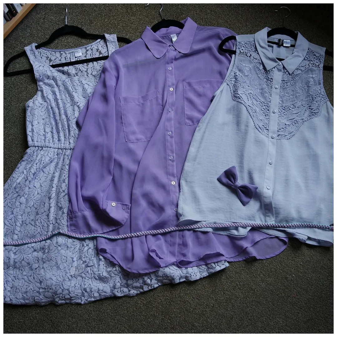 Favorite lilac fashion items