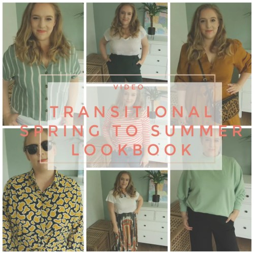 lookbook outfits spring summer 2019 transitional