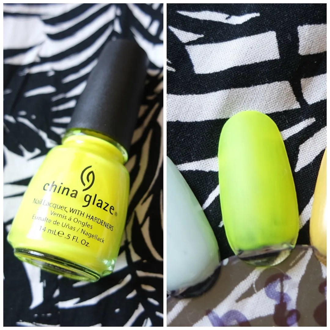 best yellow nail polish swatch
