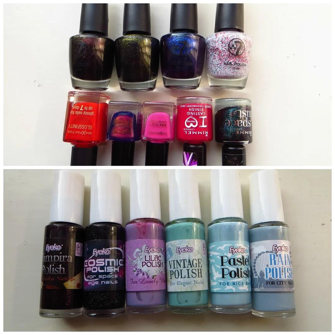 Drugstore nail polish stash #2 – Floating in dreams