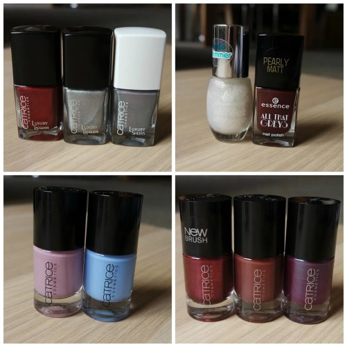 New budget proof nail polish by Essence & Catrice