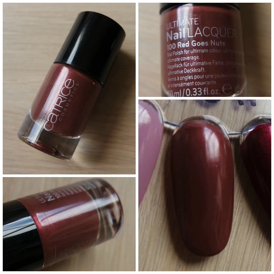 Catrice Ultimate Nail Lacquer 100 Red Goes Nuts