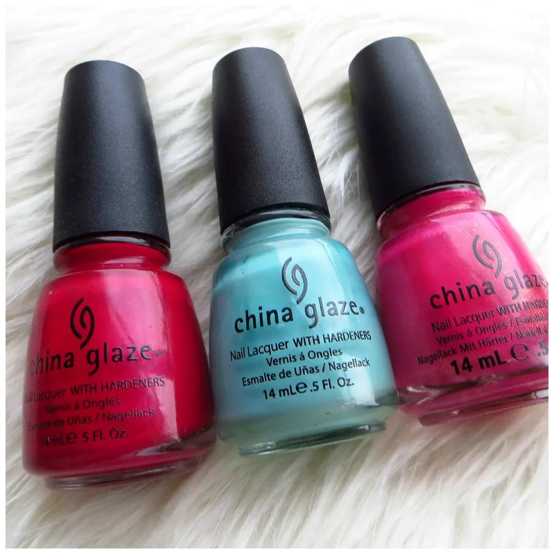 China Glaze Red Nail Polish: Floating In Dreams