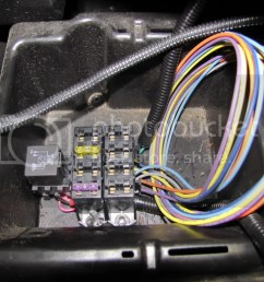 block you will ground the terminal and complete the circuit since the painless wiring fuse block install  [ 1024 x 768 Pixel ]