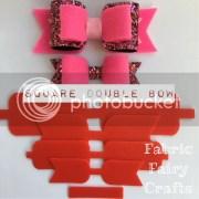 plastic bow templates