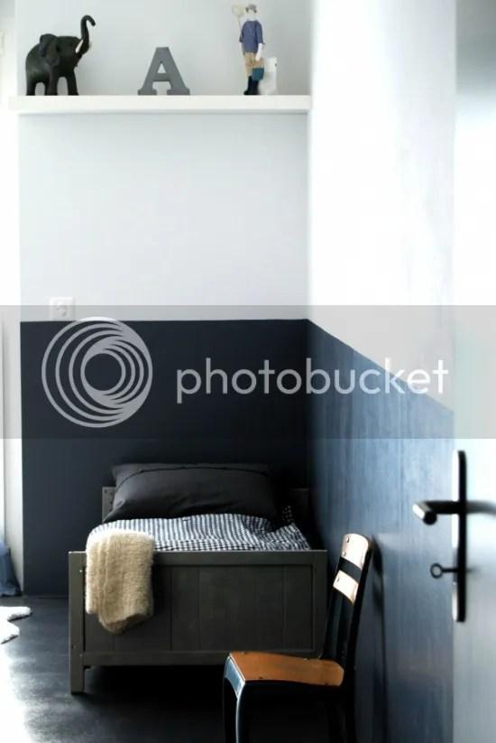 Interieur Schildertip Halve Muren In De Verf  Mia Domo