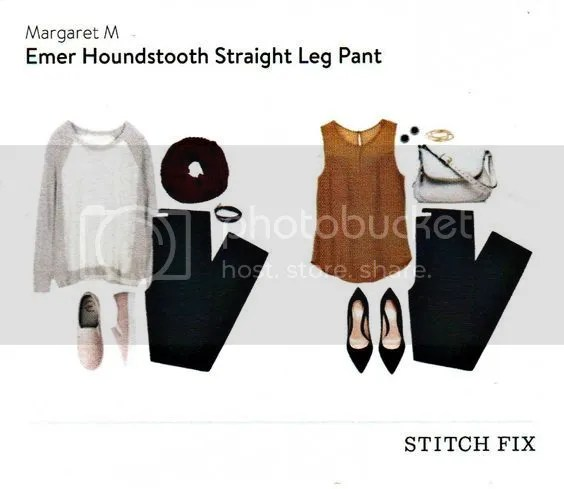 Emer Houndstooth Straight Leg Pant photo ecd0db3b6e05b98d03232502f47eeaf3.jpg